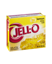 Jell-O® Lemon Gelatin Dessert Mix 3 oz. Box
