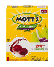 Mott's Fruity Centers Mixed Berry Pouches - 6 CT