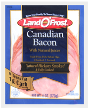 Land O' Frost® Natural Hickory Smoked Canadian Bacon 6 oz. Pack