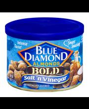 Blue Diamond Almonds Bold Salt 'n Vinegar Almonds 6 Oz Canister