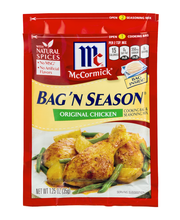 McCormick® Bag 'n Season® Original Chicken Cooking Bag & Seas...