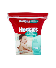 Huggies® One & Done® Refreshing* Cucumber & Green Tea Baby Wi...