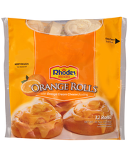 Rhodes Bake N Serv® Orange Rolls with Orange Cream Cheese Fro...