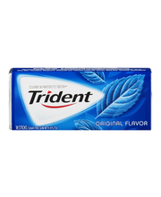 Trident Original Flavor Sugar Free Gum with Xylitol 18 ct Pack