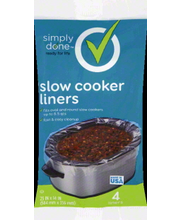 SIMPLY DONE LINERS SLOW COOKER