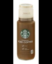Starbucks® Medium Roast Vanilla Iced Coffee 11 fl. oz. Bottle
