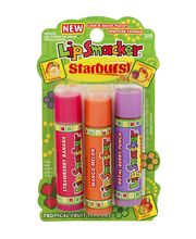 Lip Smacker Starburst Tropical Flavored Lip Glosses (309) - 3 CT