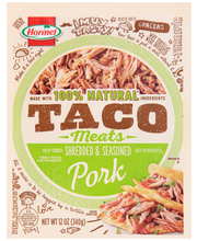 Hormel® Taco Meats Shredded & Seasoned Pork 12 oz. Pack