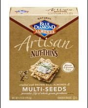 Blue Diamond Almonds® Artisan Nut-Thins® Brown Rice, Almonds ...