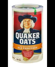 Quaker Oats® 100% Whole Grain Old Fashioned Oatmeal 18 oz. Ca...