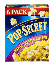 Pop-Secret® Movie Theater Butter Popcorn 6-3.2 oz. Bags