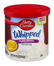 Betty Crocker™ Whipped Fluffy White Frosting 12 oz. Canister