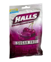 Halls Sugar Free Black Cherry Cough Suppressant/Oral Anesthet...