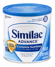 Similac® Advance® Infant Formula with Iron 12.4 oz. Can