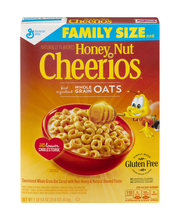 General Mills Honey Nut Cheerios Cereal Family Size Gluten Free