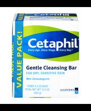 Cetaphil® Gentle Cleansing Bar 3 ct Pack