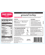 Shady Brook Farms Fresh 85% Lean Ground Turkey (1.3 lbs)