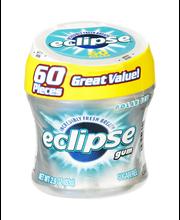 Eclipse Sugarfree Gum Polar Ice - 60 Pieces