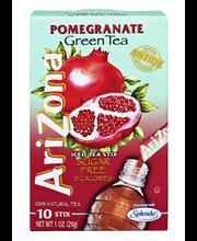 Arizona Pomegranate Green Tea Sugar Free 0 Calories Iced Tea ...