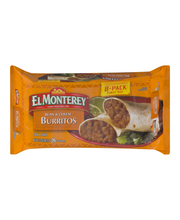 El Monterey® Bean & Cheese Burritos 8 ct Bag