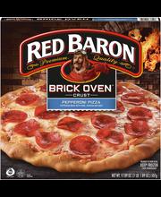 Red Baron® Brick Oven™ Crust Pepperoni Pizza 17.89 oz. Box