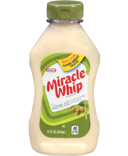 Kraft Miracle Whip Dressing with Olive Oil 12 fl. oz. Bottle