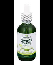 SweetLeaf Sweet Drops Sweetener Stevia Clear