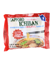 Sapporo Ichiban Japanese Style Noodles & Original Flavored-Soup