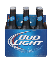 Bud Light Beer, 6 pk 12 fl. oz. Bottles