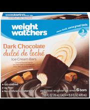 Weight Watchers Dark Chocolate Dulce de Leche Ice Cream Bars ...