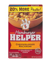 Betty Crocker™ Cheeseburger Macaroni Hamburger Helper™ 6.6 oz...