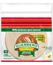 Guerrero® White Corn Tortillas 18 ct Bag