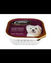 Cesar® Canine Cuisine Porterhouse Steak Flavor in Meaty Juice...