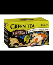 Celestial Seasonings Decaf Green Tea with White Tea - 20 CT