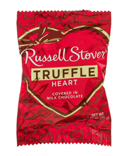 Russell Stover Truffle Heart in Milk Chocolate