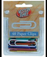 Wf Jumbo Vinyl Paper Clip