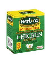 Herb-Ox® Sodium Free Chicken Flavor Granulated Bouillon Packe...