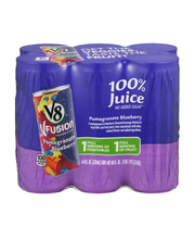 V8 V-Fusion® Pomegranate Blueberry 8 oz. 6-pack