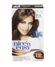 Clairol Nice 'n Easy, 5N/118A Natural Medium Neutral Brown, P...