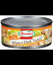 Hormel® White & Dark Turkey in Water 5 oz. Can