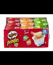 Pringles® Variety Pack Potato Crisps 18 ct Pack