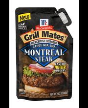 McCormick® Grill Mates® Steakhouse Burgers Sauce Mix-Ins Mont...