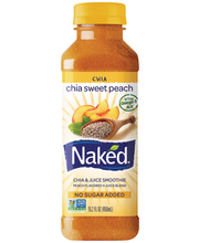 Naked® Chia Sweet Peach Chia & Juice Smoothie 15.2 fl. oz. Bo...