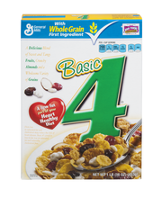Basic 4™ Cereal with Sweet Tangy Fruit and Almonds 16 oz Box