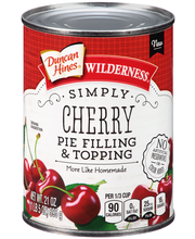 Wilderness® Simply Cherry Pie Filling & Topping 21 oz. Can