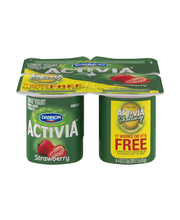 Dannon® Activia® Probiotic Blended Lowfat Yogurt Strawberry 4...