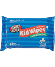 Wf Kids Wipes Flushable Refill