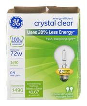 GE Energy Efficient Crystal Clear 72 Watt General Purpose Hal...
