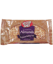 Wf Almonds Slivered Bkg