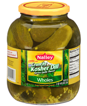 Nalley® Crunchy Kosher Dill Wholes Pickles 46 fl. oz. Jar